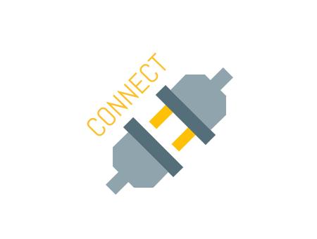 Simple Tech Icon Logo Styles