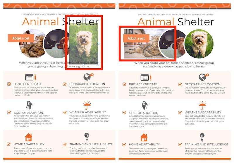 Ways to Incorporate Stock Photos Example 4