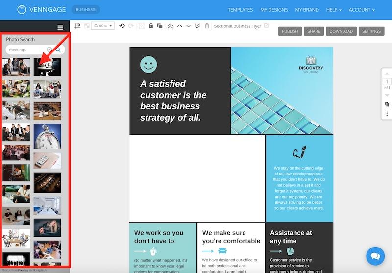 Ways to Incorporate Stock Photos Screenshot 2