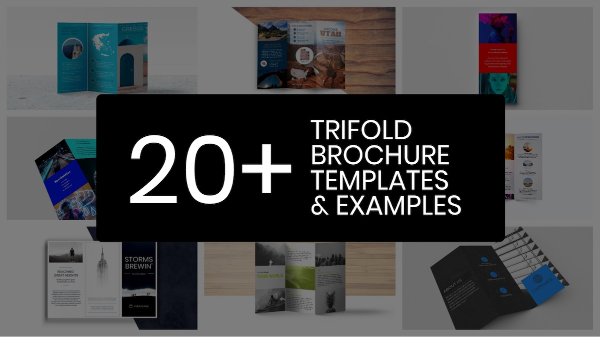 20+ Professional Trifold Brochure Examples, Tips & Template