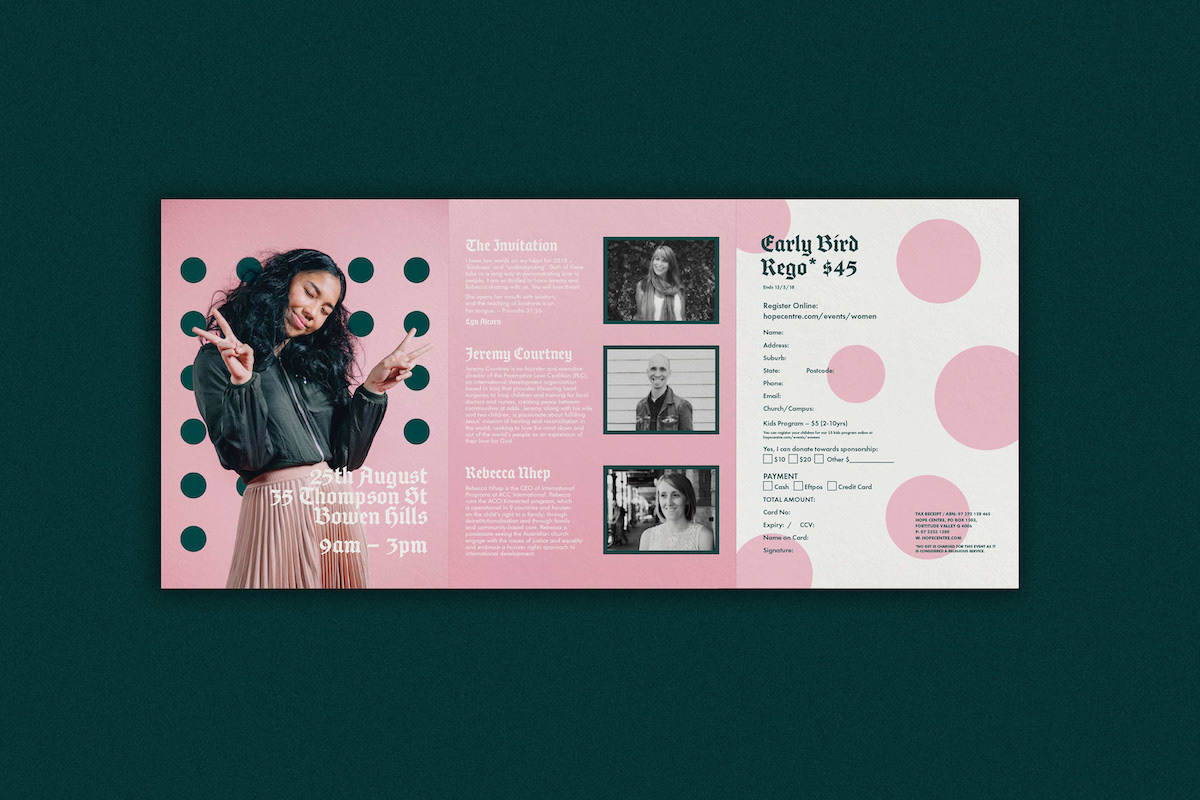 Bold Business Marketing Trifold Brochure Example1