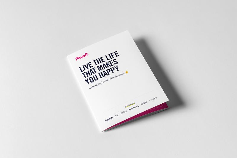Minimalist White Business Brochure Example