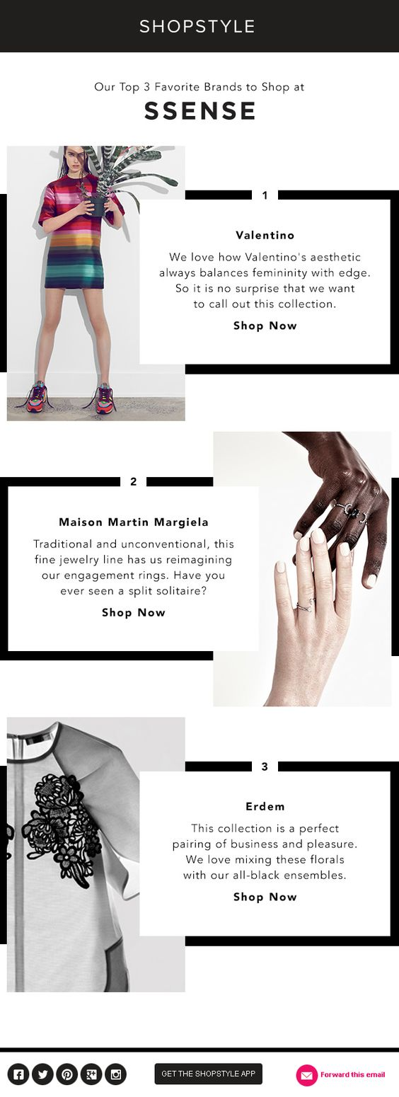 Shopstyle Fashion Email Newsletter Template