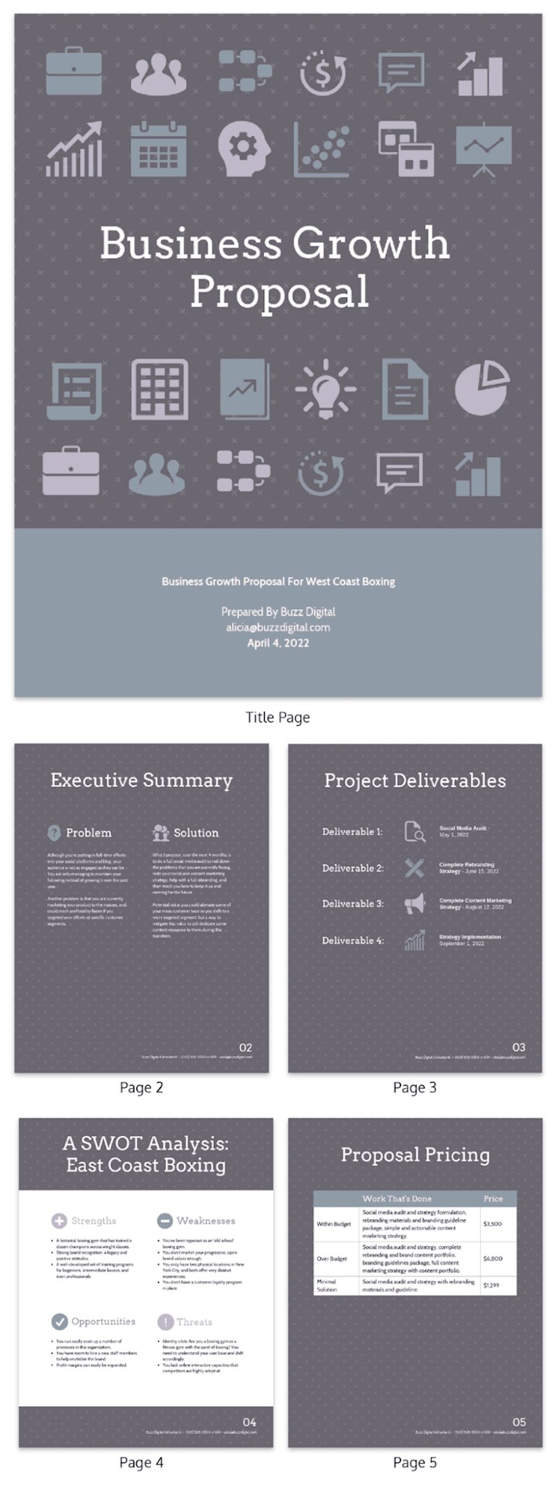 20+ Consulting Proposal Templates To Convert Prospects Into Clients