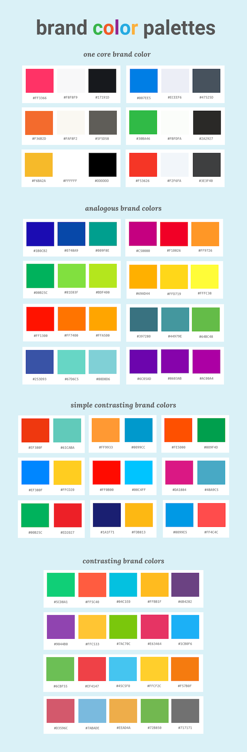 Color Scheme Designer everything you need to know about picking and using brand