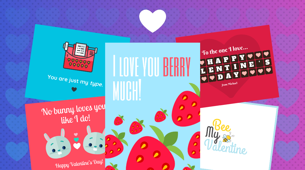 30 Cute Valentine S Day Card Ideas Valentine S Day Card Templates