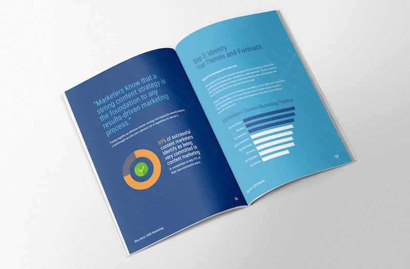 B2B White Paper Business Report Template