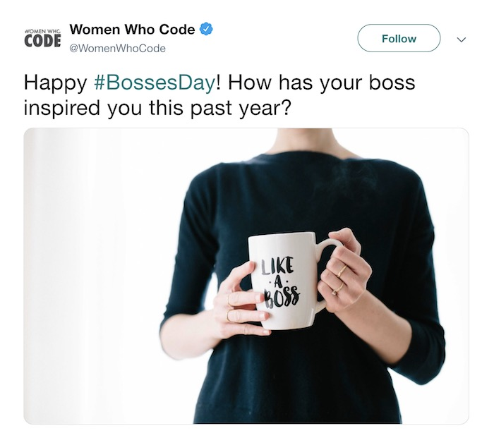 Bosses Day - Social Media Holiday Templates1