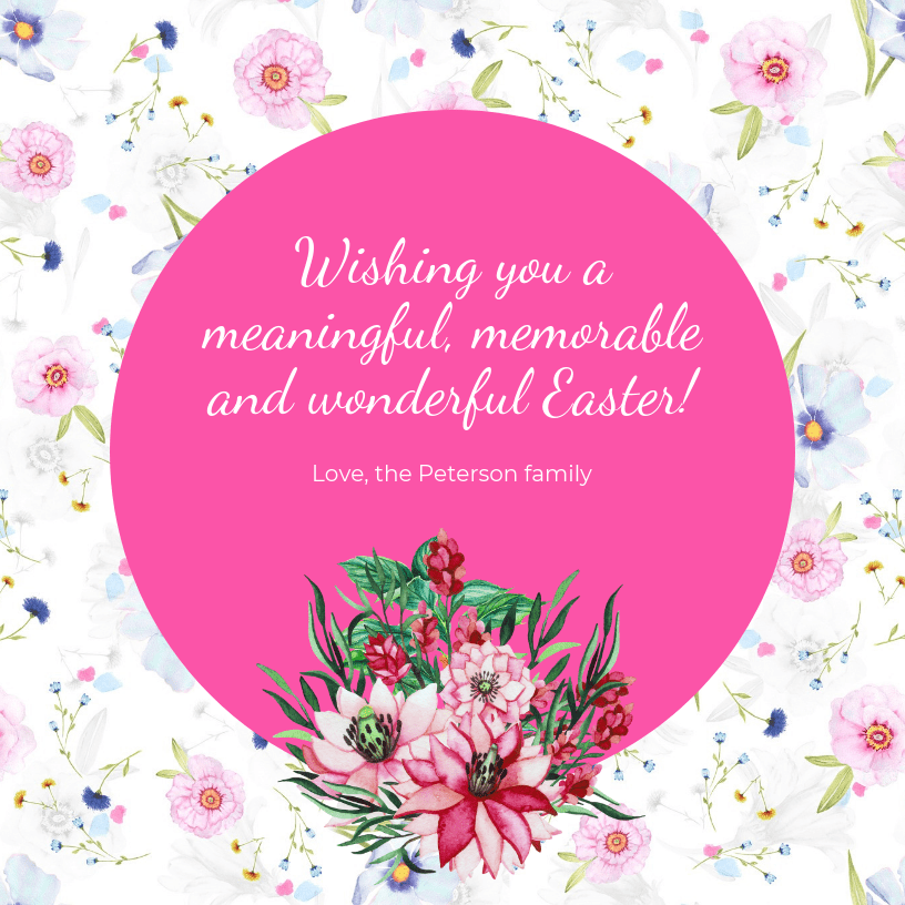 Creative Easter Card Social Media Templates1