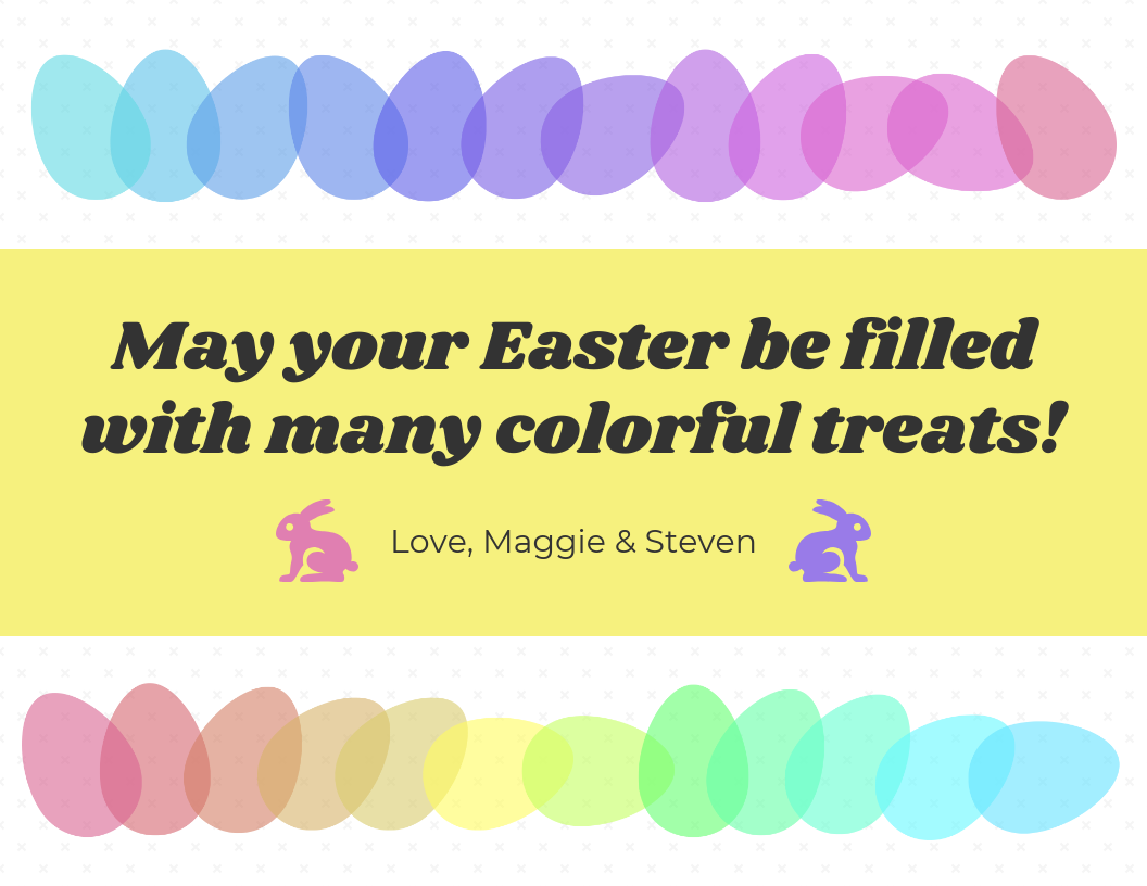 Creative Easter Card Social Media Templates2