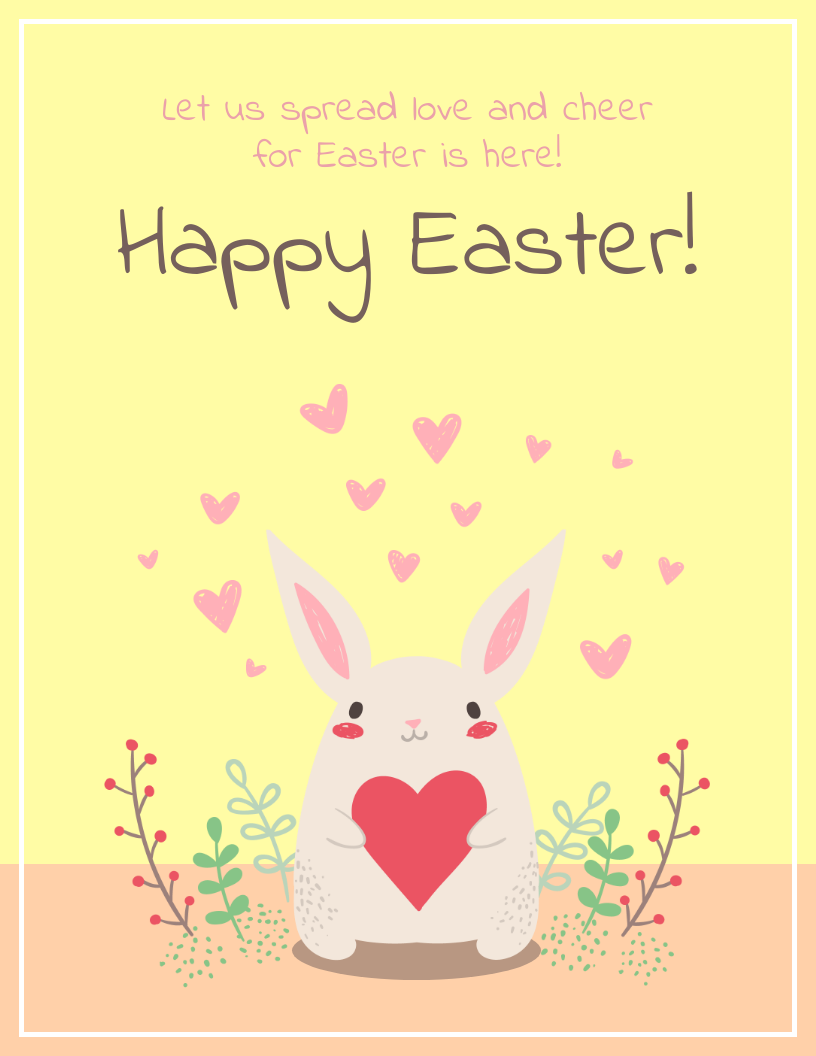 Creative Easter Card Social Media Templates3