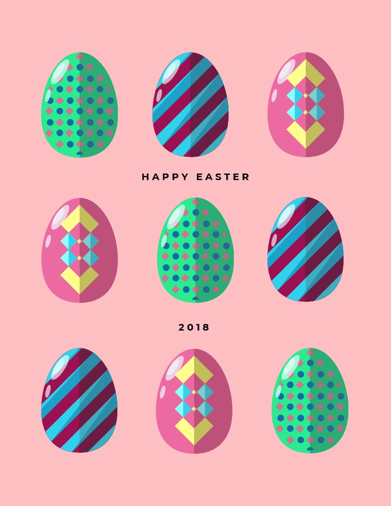 Easter Sunday - Social Media Holiday Templates4
