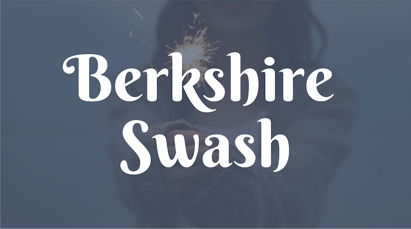 Free Elegant Fonts - Berkshire Swash