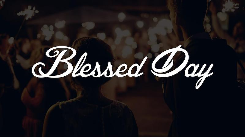 Free Elegant Fonts - Blessed Day
