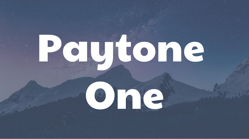 Free Elegant Fonts - Paytone One
