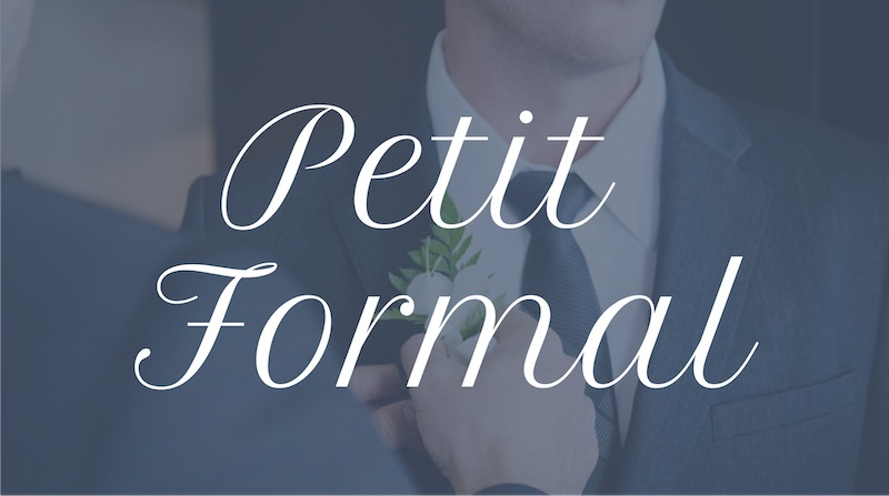 Free Elegant Fonts - Petit Formal