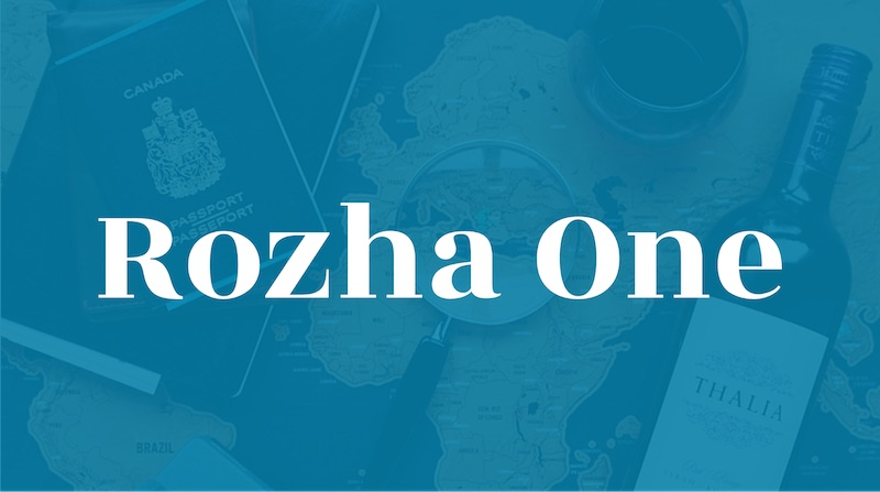 Free Elegant Fonts - Rozha One