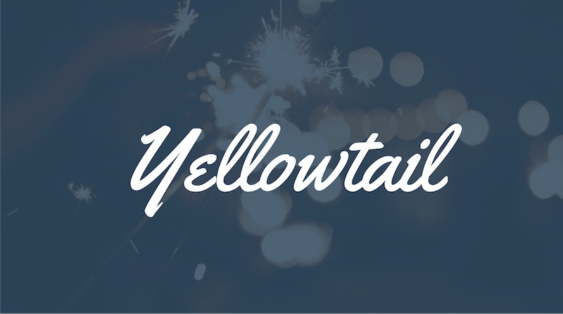 Free Elegant Fonts - Yellowtail