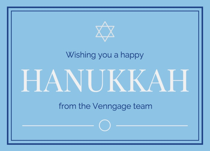 Hanukkah - Social Media Holiday Template2