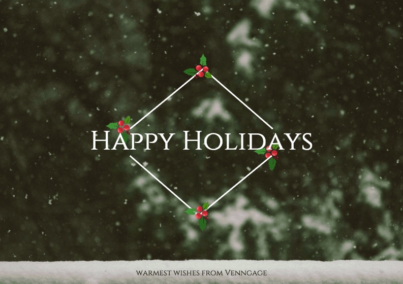 Happy Holidays - Social Media Holiday Template1