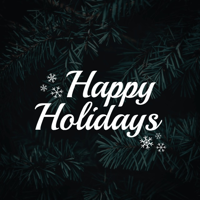 Happy Holidays - Social Media Holiday Template4