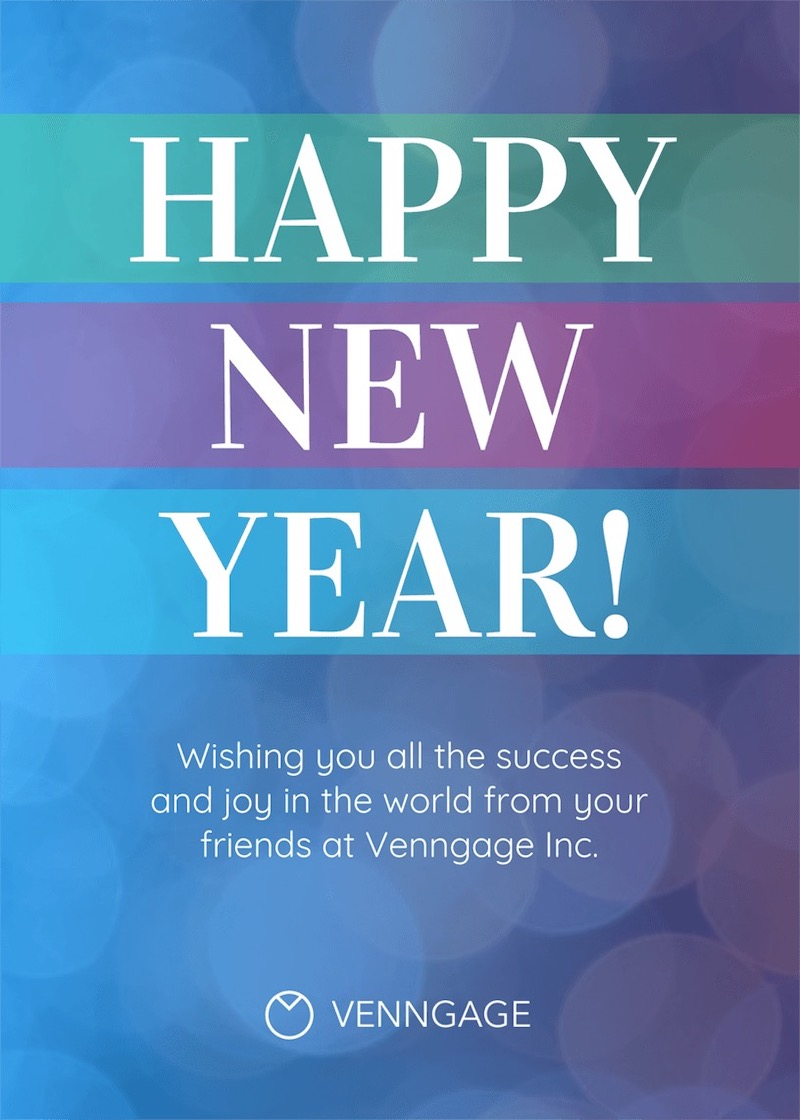 Happy New Year Social Media Holiday Template copy