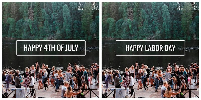 Labor Day - Social Media Holiday Templates2