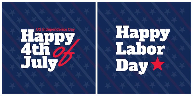 Labor Day - Social Media Holiday Templates4