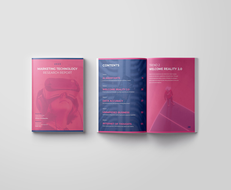 Marketing Research Business Report Template 1