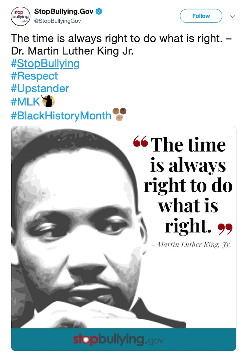 Martin Luther King Day - Social Media Holiday Template1