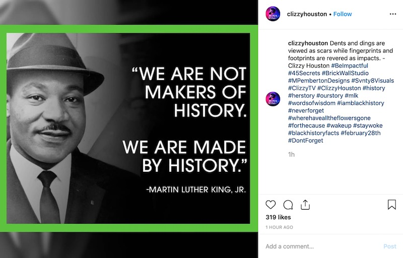 Martin Luther King Day - Social Media Holiday Template2
