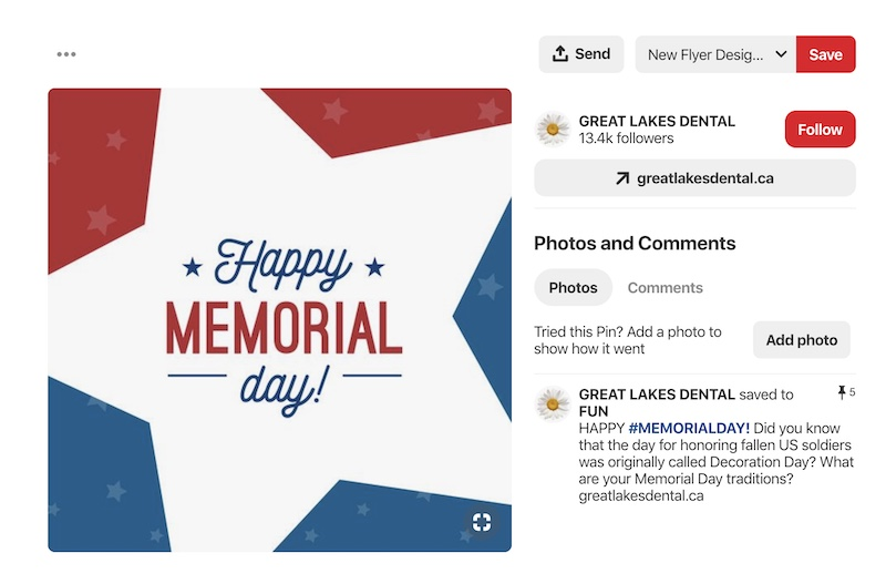Memorial Day - Social Media Holiday Templates3