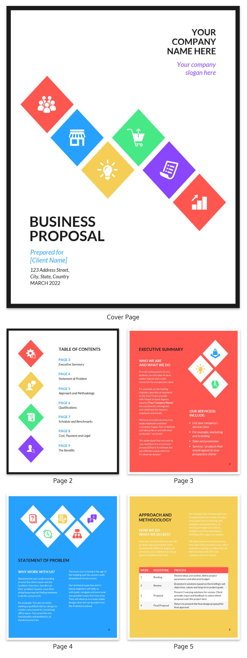 Modern Business Proposal Template