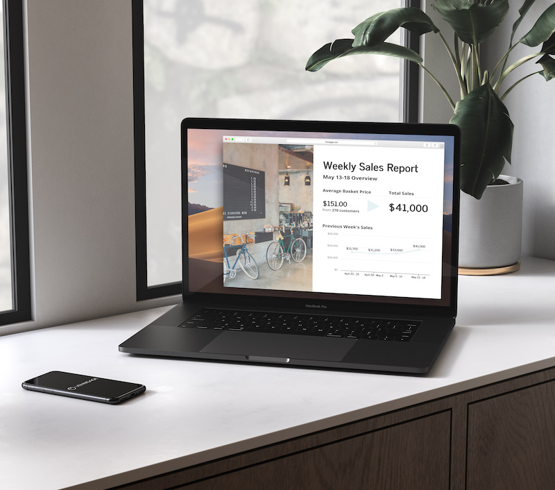 Modern Weekly Sales Business Report Template