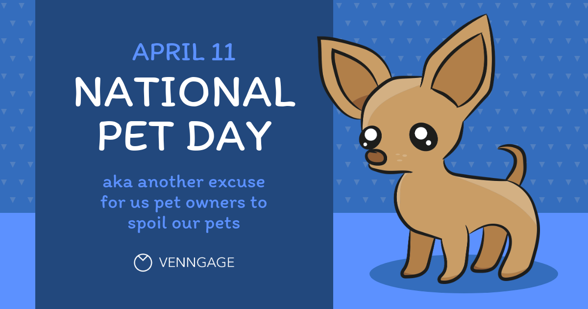 National Pet Day Social Media Holiday Templates2