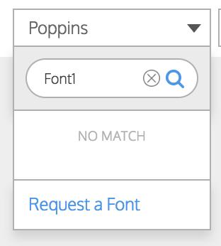 Request a Font Venngage