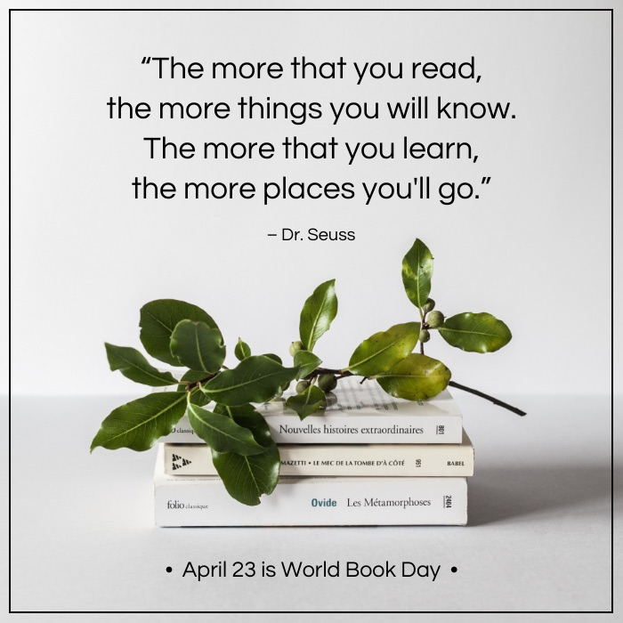 World Book Day Social Media Holiday Templates