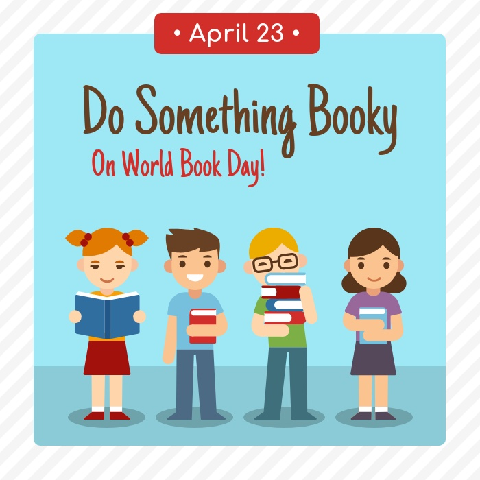 World Book Day Social Media Holiday Tempaltes4