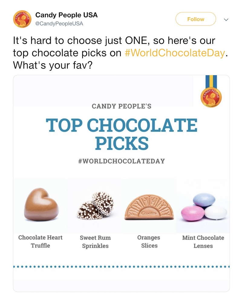 World Chocolate Day - Social Media Holiday Templates1