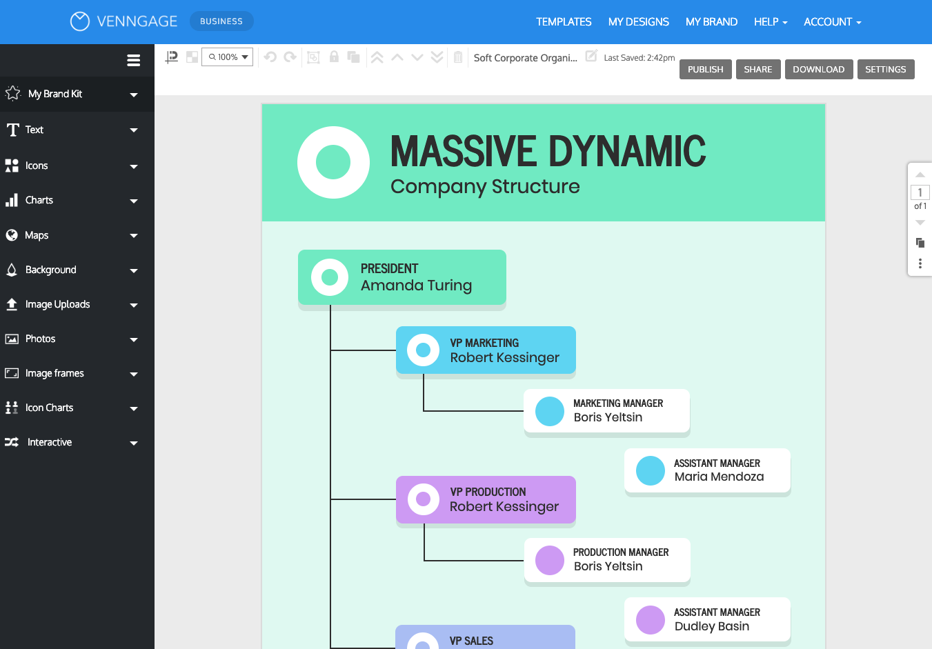 Custom My Design Assistant online flowchart maker - create a custom flowchart - venngage