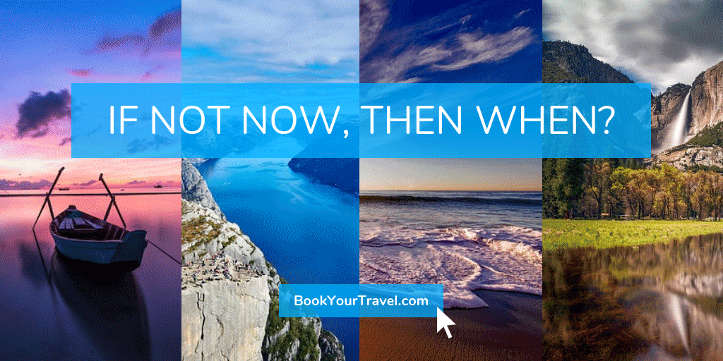Travel Twitter Image Template