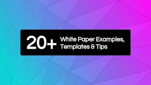Whiite Paper Examples