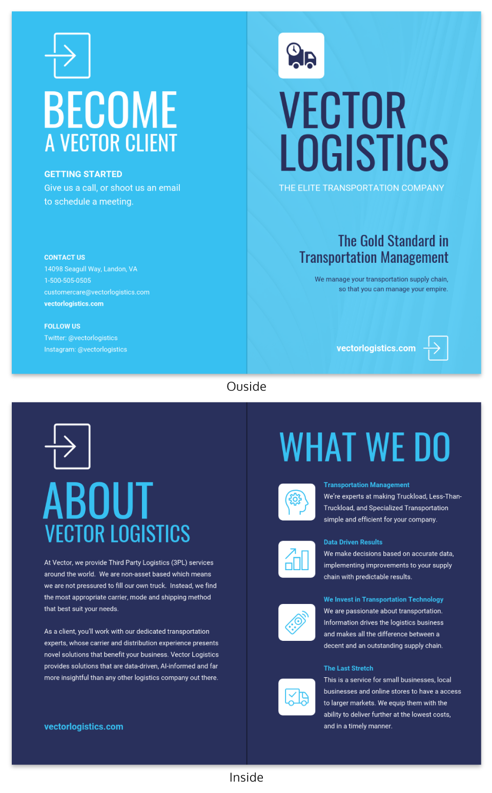 Consulting Brochure Template