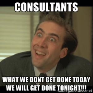 Consultants Meme Venngage