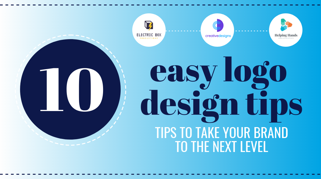 10 logo design tips easy logo design for beginners