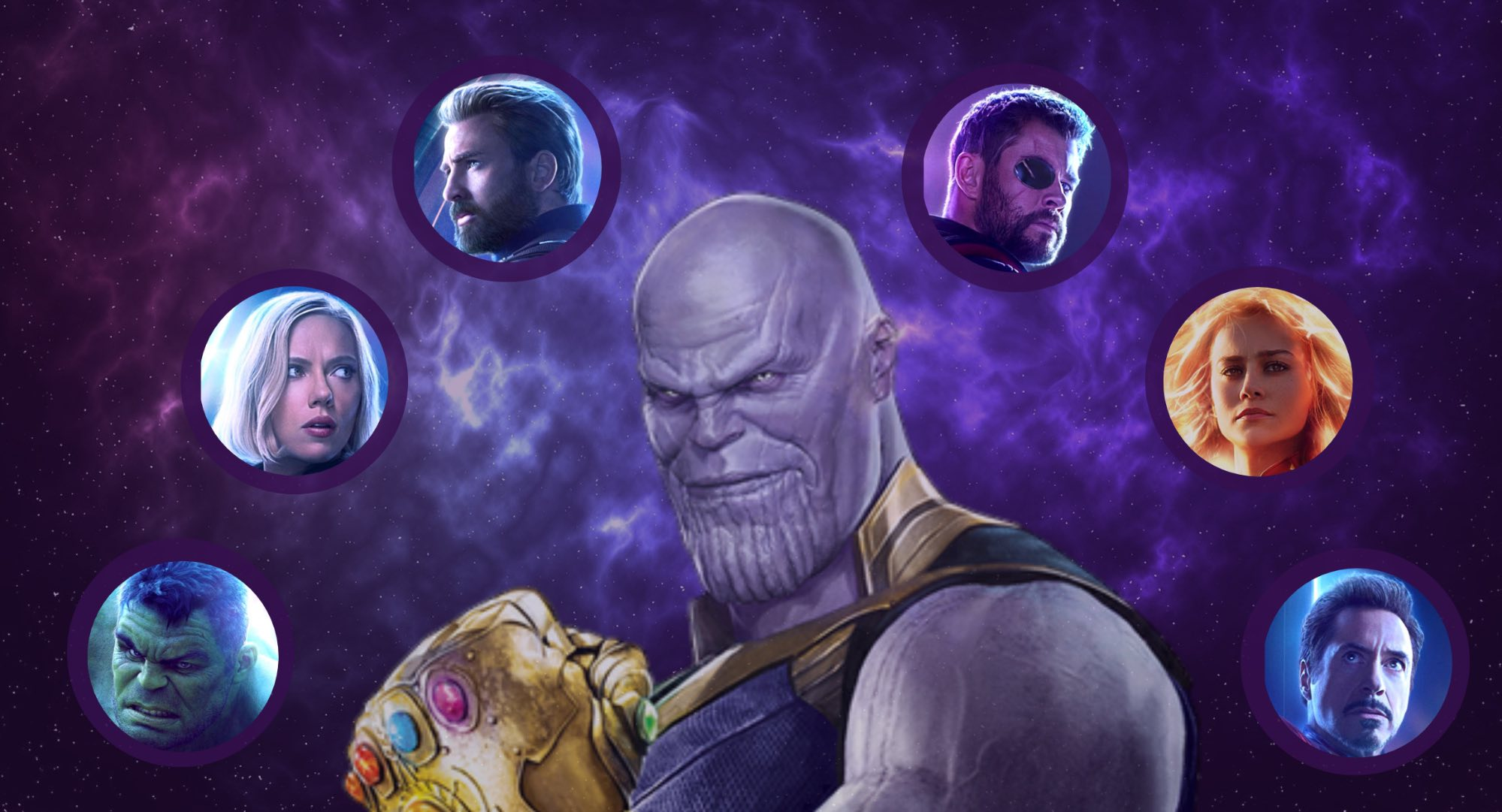 Avengers Endgame Infographic Blog Header