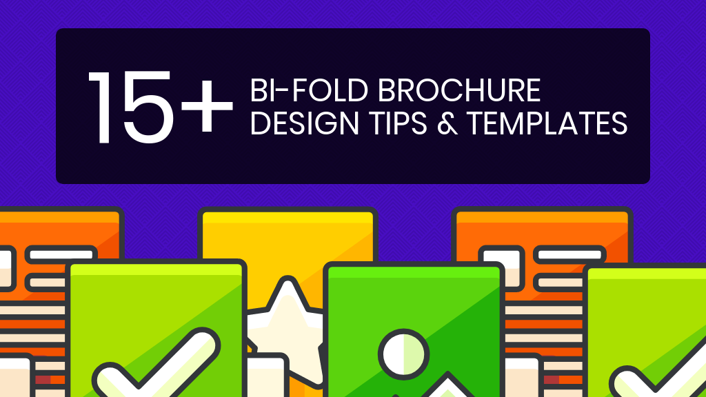 Bi Fold Brochure Template Header