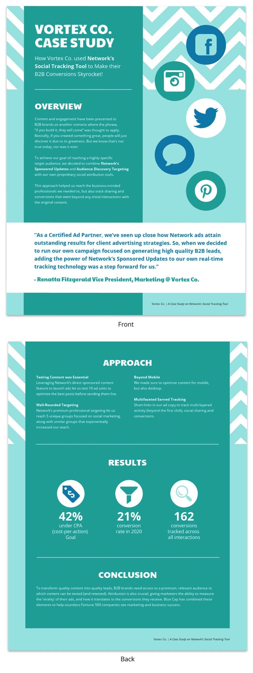 modelo de relatorio de consultoria