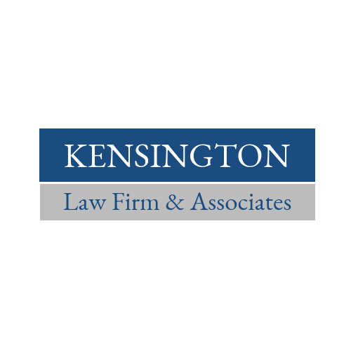 Text Law Firm Business Logo