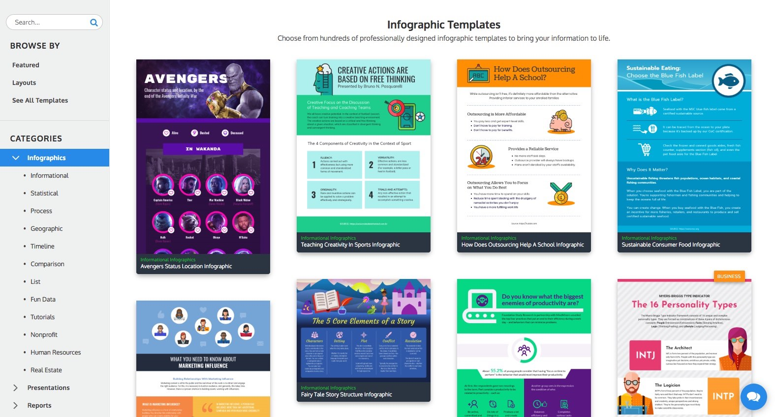 Venngage Infographic Templates